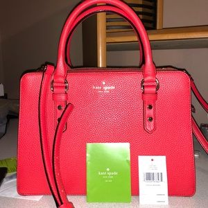 GENTLY USED Kate Spade Mulberry Street Cherryliqr